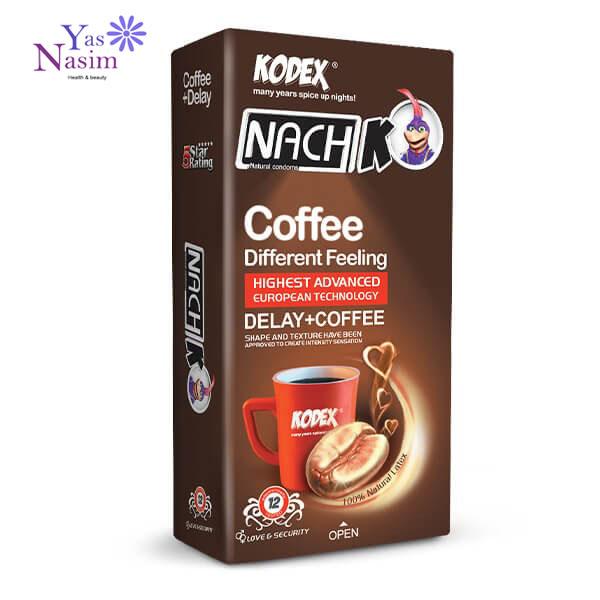 کاندوم قهوه کدکس بسته 12 عددی
