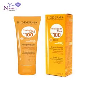 ضد آفتاب پوست حساس بیودرما رنگی (فتودرم مکس پوست خشک)