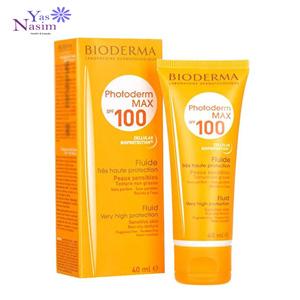 ضد آفتاب پوست حساس بیودرما (فتودرم مکس پوست چرب)
