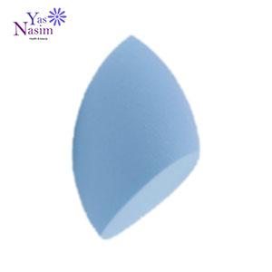 اسفنج آرایشی مدل اشک رنگ آبی