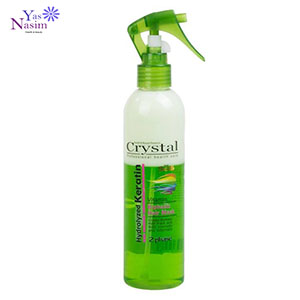 اسپری دو فاز کریستال مدل Crystal Hydrolzed keratin